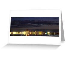 Dampier Salt  Port Hedland, Western Australia Greeting Card