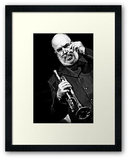 Randy Brecker by Jean M. Laffitau