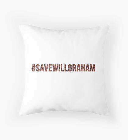 #SaveWillGraham 2 Throw Pillow