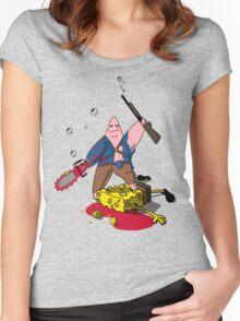 Ashtrick SpongiteHunter Women's Fitted Scoop T-Shirt