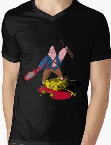 Ashtrick SpongiteHunter Mens V-Neck T-Shirt
