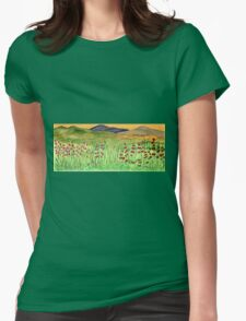 Nature's joys Womens Fitted T-Shirt
