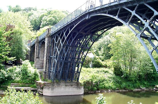 Iron Bridge, Shropshire UK by GeorgeOne