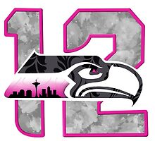 Seahawks 12th woman by Bumblebee2013