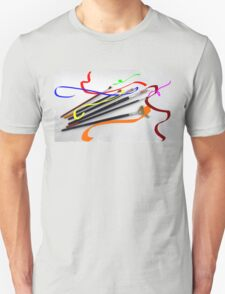 Artist´s brushes and painting T-Shirt