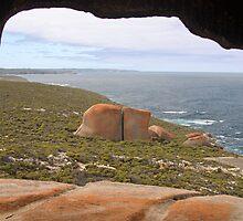 Remarkable Rocks, Kangaroo Island, South Australia  by Adrian Paul