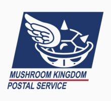 mushroom kingdom postal service Kids Clothes