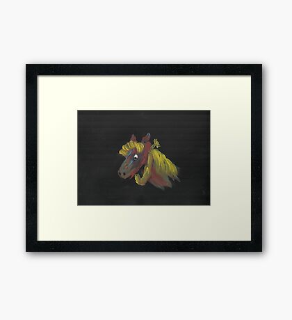 Giddy-Up Framed Print