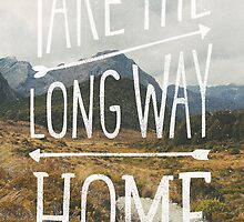 TAKE THE LONG WAY by cabinsupplyco