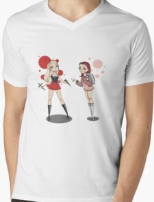 Buffy and Willow Mens V-Neck T-Shirt