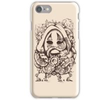 STEAMED NO FACE. iPhone Case/Skin