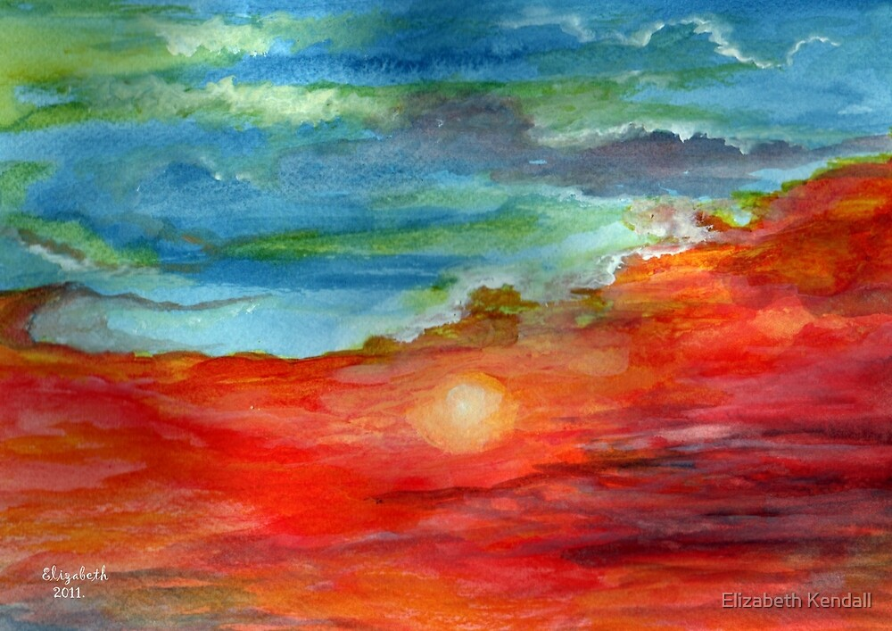 Sunset by Elizabeth Kendall