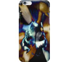 4385 Bloom in Browns and Blues iPhone Case/Skin