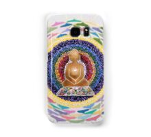 Buddha : Crown Chakra  Samsung Galaxy Case/Skin