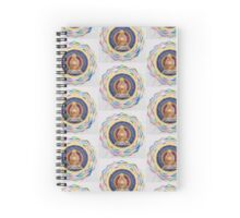 Buddha : Crown Chakra  Spiral Notebook