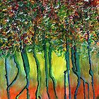 To paint trees... by Elizabeth Kendall