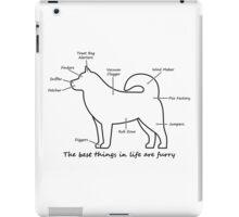 Furry anatomy iPad Case/Skin
