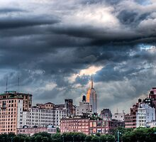 Empire State Sunset (HDR) by Dave Bledsoe