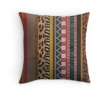 Mozambique Throw Pillow