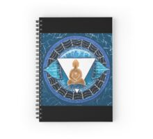 Buddha : Third Eye Chakra  Spiral Notebook