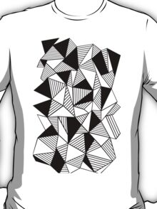 Ab Lines with Black Blocks T-Shirt