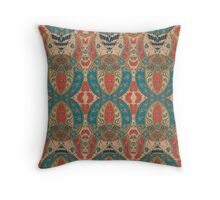 Persian Damask Throw Pillow