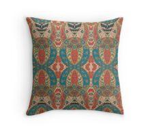 Persian Damask Throw Pillow
