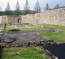 Hospital Ruins inside Trial Bay Gaol by Geoff Stone