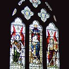 Window in All Saints Church Godshill  IOW by sweeny