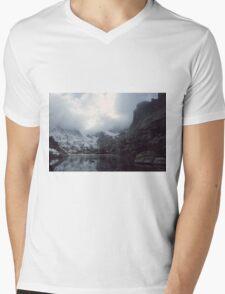 Lake of Glass Mens V-Neck T-Shirt