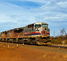 Hamersley Iron Ore train by warriorprincess