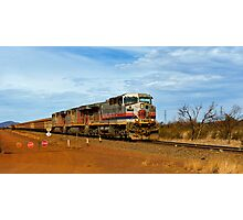 Hamersley Iron Ore train Photographic Print