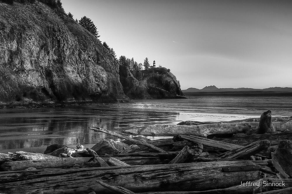 Cape Disappointment Washington by Jeffrey  Sinnock