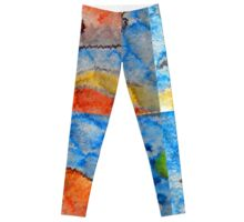 Orange fish Leggings