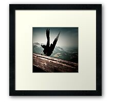 At Eagle's nest Framed Print