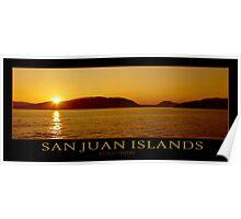 San Juan Islands - Poster Poster