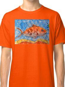 Orange fish Classic T-Shirt
