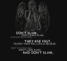 Doctor Who-Don't Blink Speech  Unisex T-Shirt