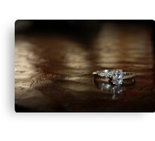 Diamonds are forever.... Canvas Print