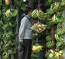 buying banana by bayu harsa