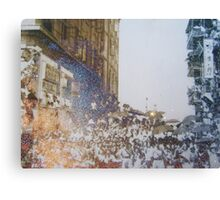 Shining umbrellas Canvas Print