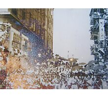Shining umbrellas Photographic Print