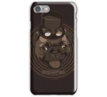 Steam Pug iPhone Case/Skin