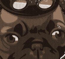 Steam Pug Sticker