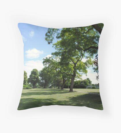 Victoria Park,Bristol,UK Throw Pillow