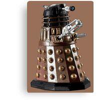 Once a Dalek, Always a Dalek Canvas Print
