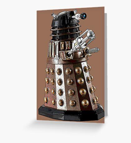 Once a Dalek, Always a Dalek Greeting Card