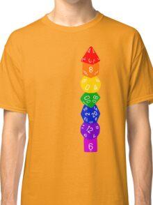 Dice tower-Rainbow Classic T-Shirt