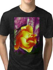 Surreal Rose Tri-blend T-Shirt