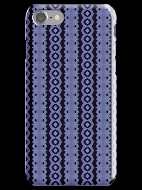 Blue Caterpillar Crawl Batik by JBonnetteArt